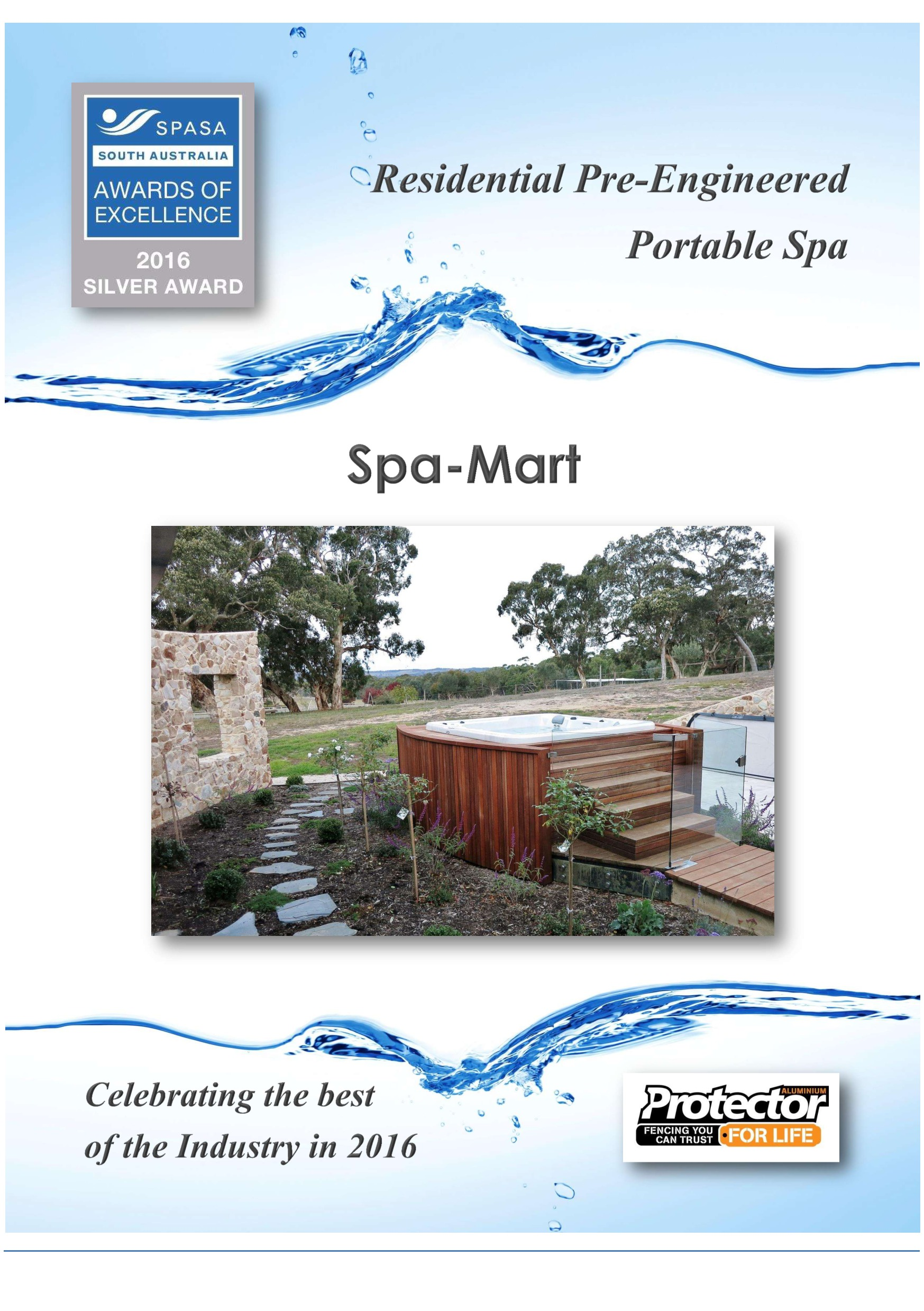 Residential Pre-Engineered Portable Spa